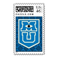 Monaters University Postage Stamp