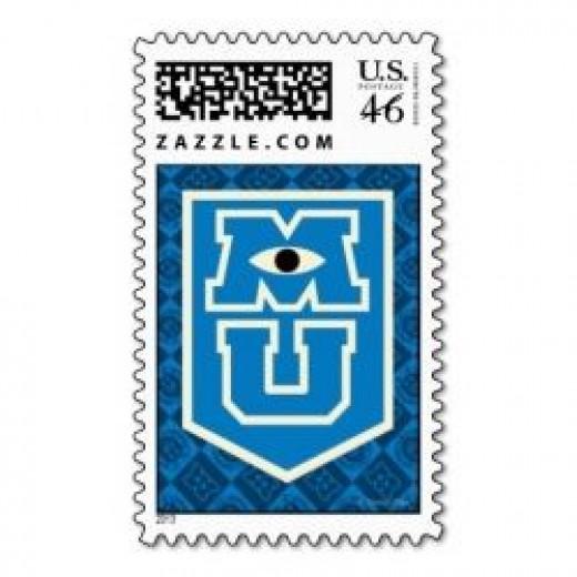 Monaters University Postage Stamp
