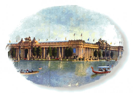 "1904 World's Fair ""Palace of Education"" included grades K - 12, colleges, and graduate schools."
