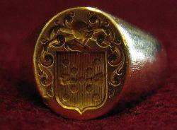 Ring wax stamper