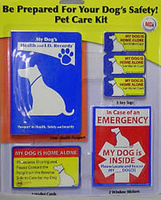 Dog Health Record kit