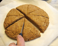 Gingerbread Scones - easy, yummy, fast!