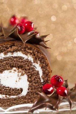 Christmas Cake Log- Filling
