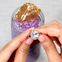 unwrap foil and discover your new jewel