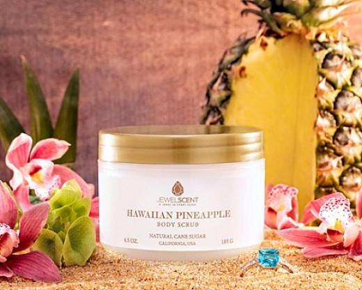 Jewel Scent Hawaiian Pineapple Body Scrub