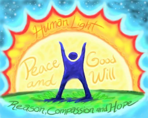 HumanLight celebration link