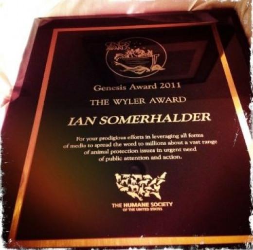 Ian's Wyler Award