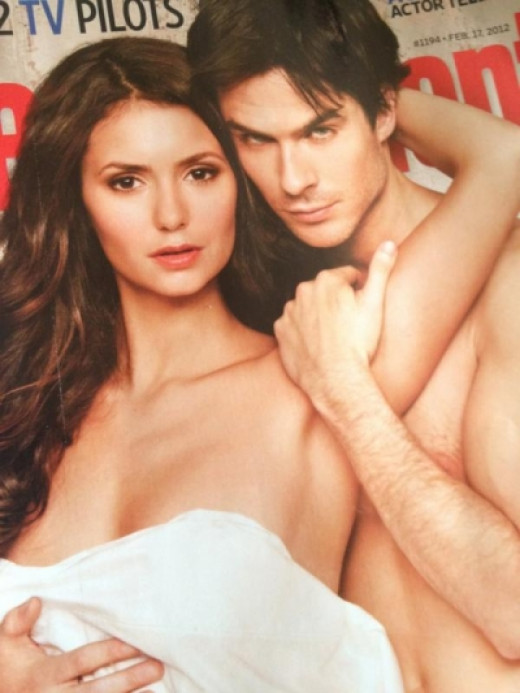 Entertainment Weekly's Vampire Diaries Cover