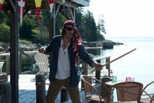 Eric as a Pirate on Haven