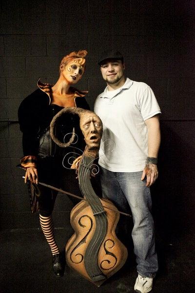 Brayce & his Tim Burton Whimsical creation