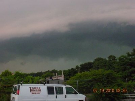 Ominous cloud or Aliens in disguise?