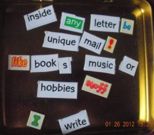 Pen Paling Magnetic Poetry