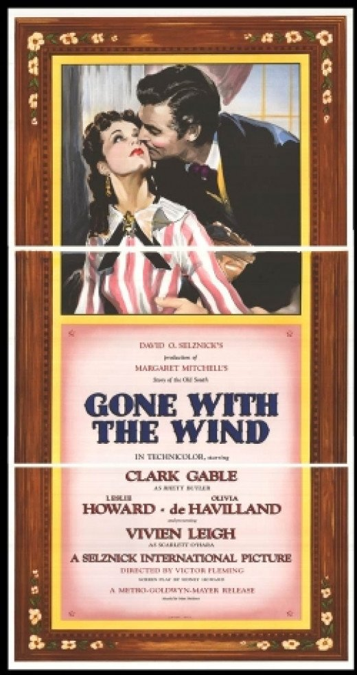 gone with the wind original movie poster