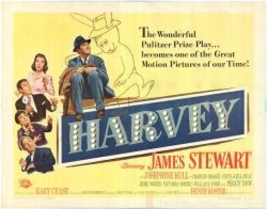 Harvey Original Movie Poster Jimmy Stewart