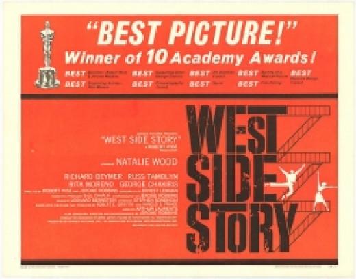 West Side Story original movie poster