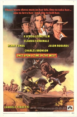 once upon a time in the west original movie poster