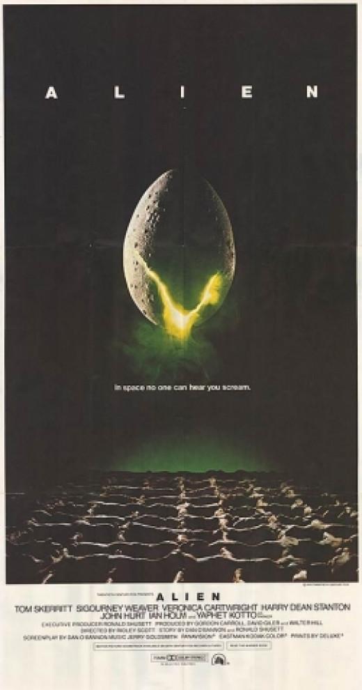 Alien Original movie poster ridley scott