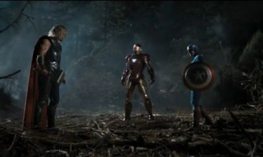 Avengers ~ Waaaay too much testosterone there!
