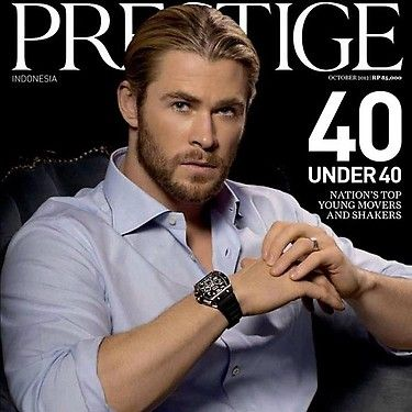 Prestige under 40 Cover man