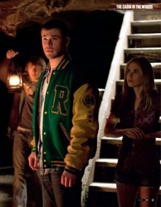 Chris in Cabin in the Woods