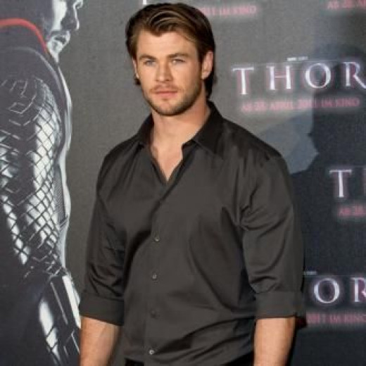 Chris at Thor Premire
