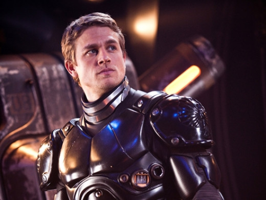 Charlie Hunnam as Raleigh Beckette Pilot of Gypsy Danger
