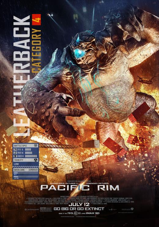 Kaiju Cat. 4 Leatherback