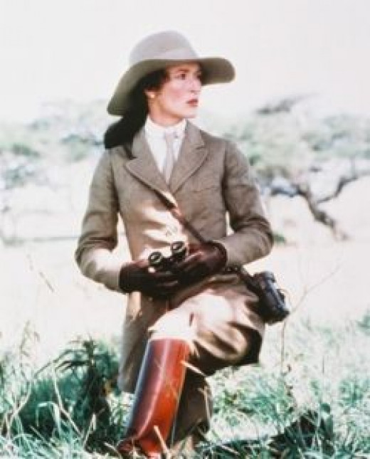 Meryl streep movie Out of Africa