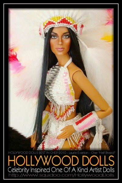 "Cher ""Half Breed"" by Laurie Everton"