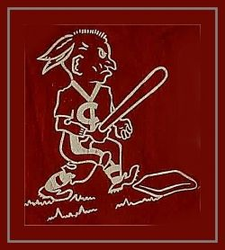 """Slider"" Chief Wahoo of the 1950s - Cleveland Indians Baseball"