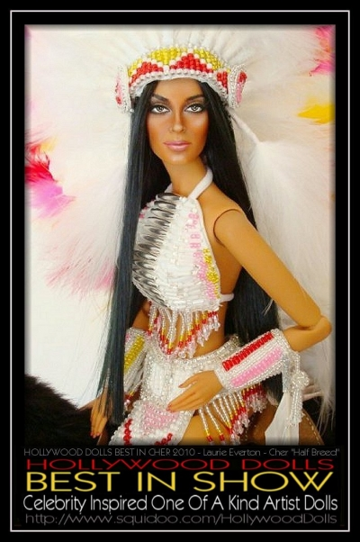 "Cher ""Half Breed"" by Laurie Everton - Hollywood Dolls 2009"