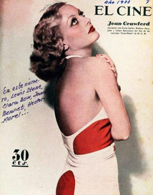 Joan Crawford sold the illusion of allure.