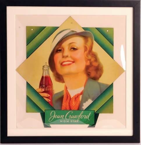 """Before Pepsi, Joan Crawford sold """"Coca Cola."""""""