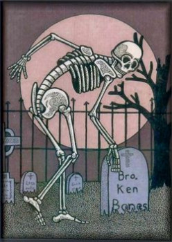 The Bone Yard Art of BLInk