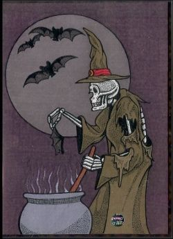 Halloween Witch by B.L.Ink