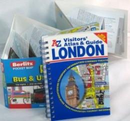 London maps guidebook