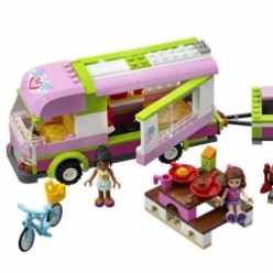 LEGO Friends Adventure Camper Building Toy For Girls