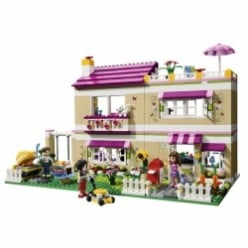Lego Friends Olivia's House - Dollhouse Toy For Girls