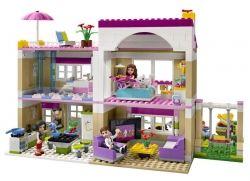 Lego Friends Olivia's House inside view