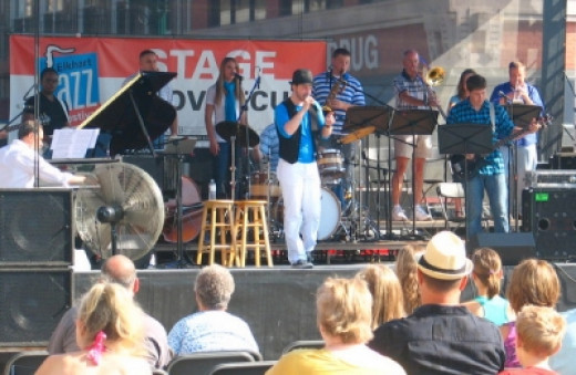 Paxton Manly at Civic Plaza Stage