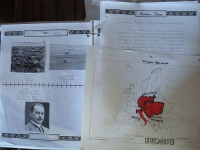 Timeline and History Pages From Notebooking.com