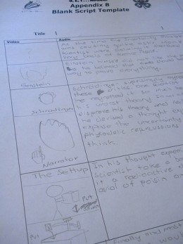 Beginnings of a Storyboard