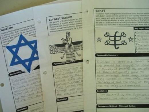 World Religions Set-History Scholar