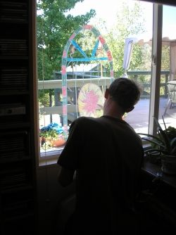 Window Stained Glass Project