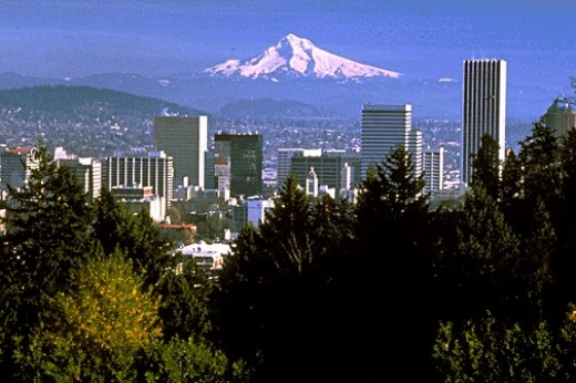 Another view of Portland, OR
