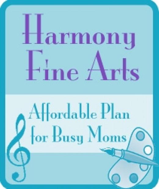 Harmony Fine Arts Button
