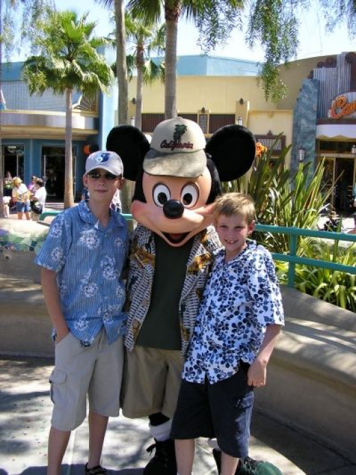 Disneyland is a favorite family vacation.