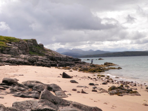 Gairloch in the north west.