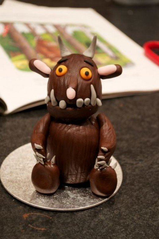 Tutorial - How to make an Edible Gruffalo