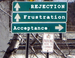 Don't end up on the road to rejection